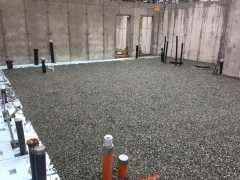 Apr 11- Slab prep upper basement