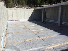 Apr 2 - Slab prep lower basement