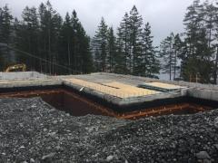 Apr 16 - Suspended slab main floor over storage