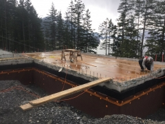 Apr 17 - Main floor suspended slab