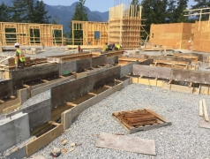 Aug 10 - GL 1-3.5 footings and walls