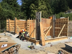 Aug 9 - Gatehouse Formwork