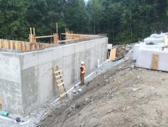 Aug 23 - Gatehouse walls