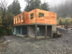 CRCC gatehouse framing