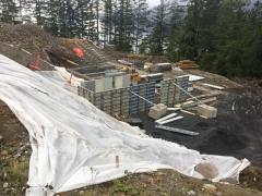 Dec 5 Lower Basement walls
