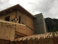 Dec 14 - Roof framing second floor