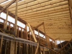 Dec 18 - Clerestory framing