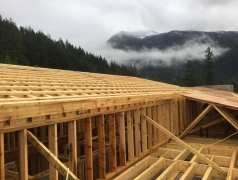 Dec 19 - Roof framing clerestory