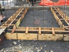 Feb 6 - Footings upper basement