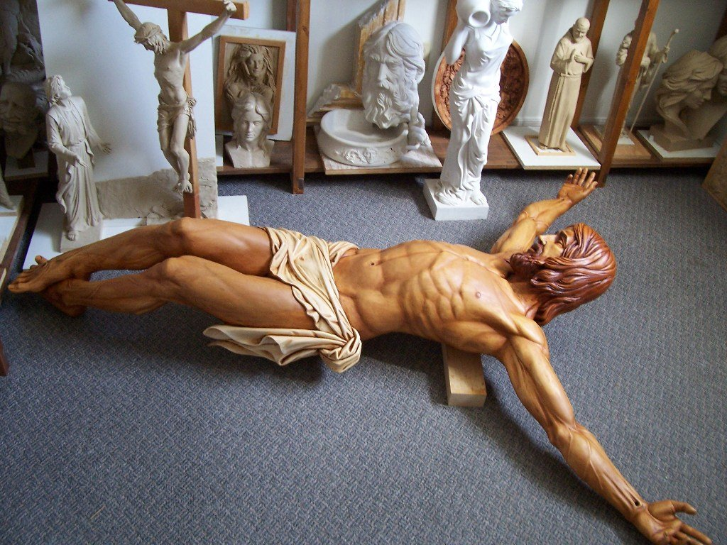 Jesus sculpture