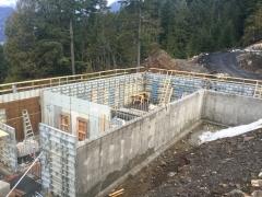 Jan 10 Lower basement walls