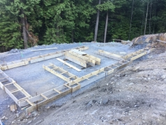 July 17 - Gatehouse footings