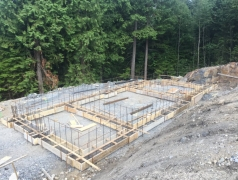July 19 - Gatehouse footings