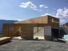 July 24 - Staff entry and main floor framing GL7
