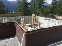 May 31 - C1 column formwork