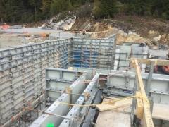 Mar 6 - upper basement walls