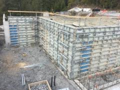 Mar 6 - upper basment walls 2