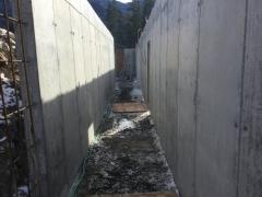 Feb 19 - corridor stripped