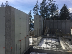 Feb 20 - upper basment formwork