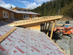 Mar-12-Chapel-sheathing-and-roof-overhang-complete