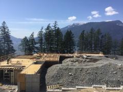 May 2 - Main floor slab deck