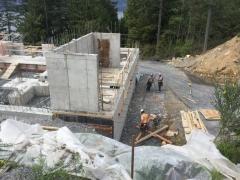May 4 - Starting upper basement high walls