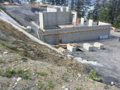 May 7 - Ledger for high wall formwork GL 1