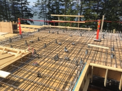 May 7 - Main floor suspended slab