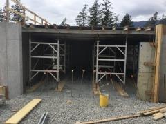 May 9 - Staff garage