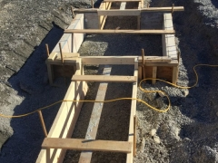 Nov 6 Footing Pod Lower basement