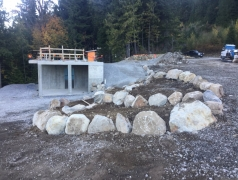 Oct 17 - Gatehouse exterior prep