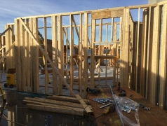 Sept 25 - Visitor Room Framing