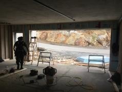Sept 12 - Guest garage back-framing