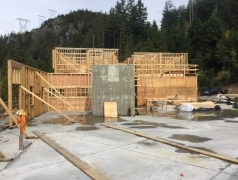 Sept 17 - Main Floor Framing