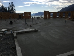 Aug 31 - SOG Main floor being finished