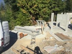 Sept 5 - Suspended slab shoring gatehouse