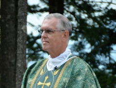 Msgr. Frederick Dolan at CRCC Mass 2016